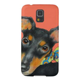 Pucciのスカーフのマンチェスターテリア Galaxy S5 ケース