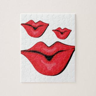 Puckerの唇 ジグソーパズル