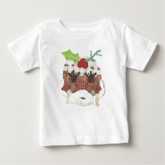 Pudding Background Baby氏のTシャツ ベビーTシャツ