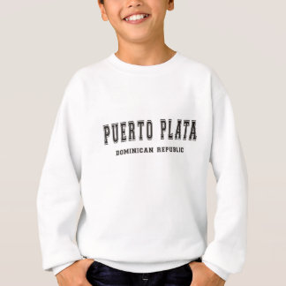 Puerto Plataのドミニカ共和国 スウェットシャツ