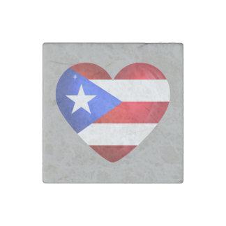 Puerto Rico Flag ストーンマグネット