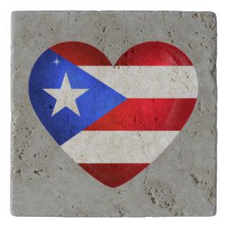 Puerto Rico Flag トリベット