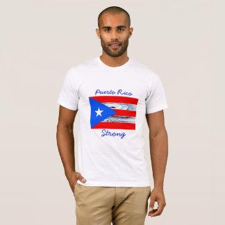 Puerto Rico  Strong Hurricane Flag Shirt Tシャツ