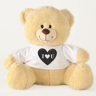 """Puffy 'I """"Heart"""" U' Teddy Bear テディベア"""
