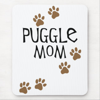 Puggleのお母さん マウスパッド