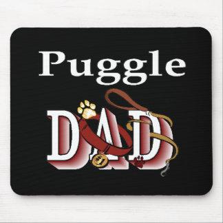 Puggleのパパのギフト マウスパッド