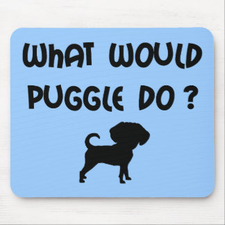 Puggleは何をしますか。 マウスパッド