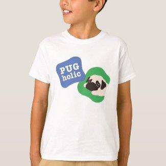 PUGholic キッズ Tシャツ