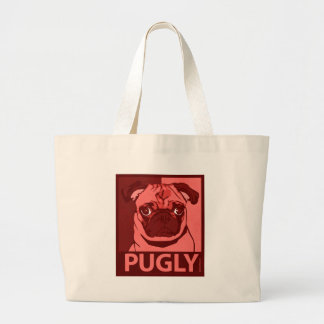 Puglyのバッグ ラージトートバッグ