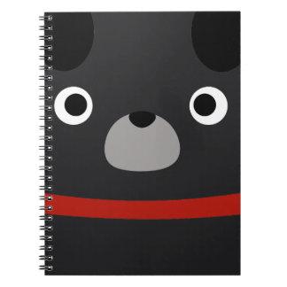 Puglyのパグ ノートブック
