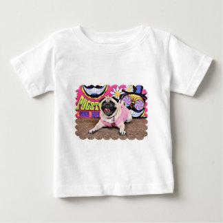 Pugstock 2015年- Kylie -パグ ベビーTシャツ