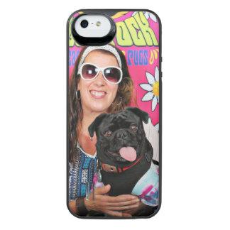 Pugstock 2015年- Louie -パグ iPhone SE/5/5sバッテリーケース