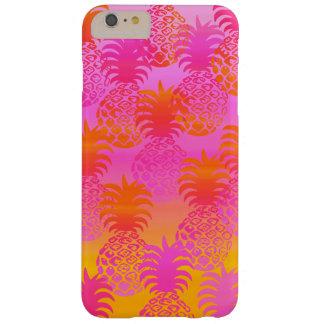 Pukanaのハワイのパイナップル日没のブレンド Barely There iPhone 6 Plus ケース