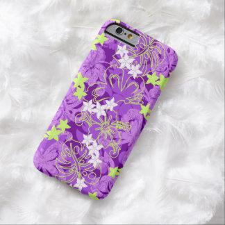 Pulelehuaの蝶ハイビスカスのハワイ語 Barely There iPhone 6 ケース