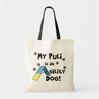 Puliの敏捷犬 トートバッグ