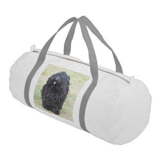 Puliシャギーな犬 ジムバッグ