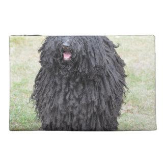 Puliシャギーな犬 トラベルアクセサリーバッグ