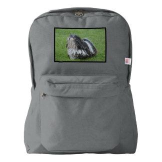 Puli白黒犬 American Apparel™バックパック
