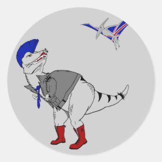 Punkasaurusのレックス ラウンドシール