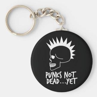 Punks Not Dead...Yet Skull Dark キーホルダー