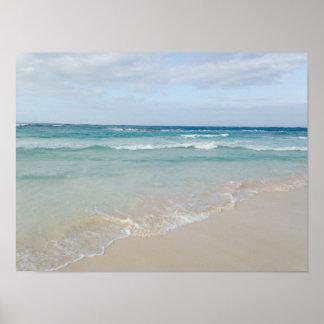 Punta Canaのドミニカ共和国の海のビーチポスター ポスター