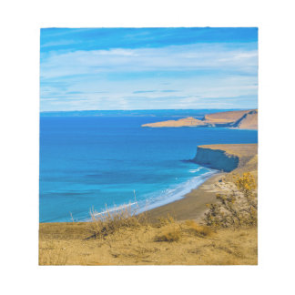 Punta del Marquez Viewpointからの海景の眺め ノートパッド