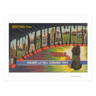Punxsutawney、ペンシルバニア(Groundhog) ポストカード