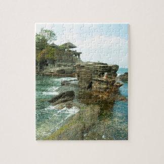Pura Tanahのロット、石の寺院、バリ島 ジグソーパズル