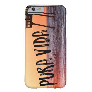Pura Vidaの海のビーチの日没の写真のiPhoneの場合 Barely There iPhone 6 ケース