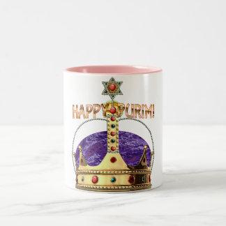 Purimの幸せなマグ ツートーンマグカップ