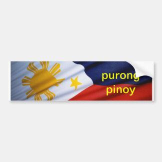 purongのフィリピン人の**** バンパーステッカー