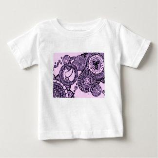 Purple Bubbles ベビーTシャツ