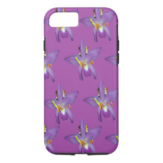 Purple_Frog_Patternの_iPhone_Seven_Plus_Case iPhone 8/7ケース