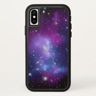 Purple Galaxies Space Photo iPhone X ケース