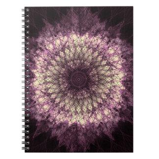 Purple Mandala ノートブック