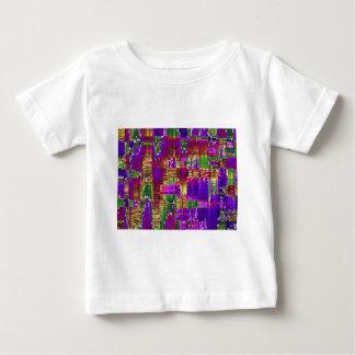 PurpleIrisSquared Z.jpg ベビーTシャツ
