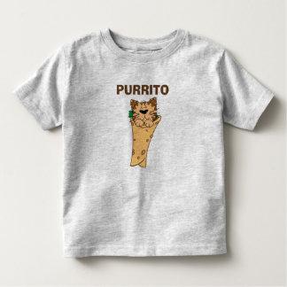 PURRITOのブリトーメキシコCAT トドラーTシャツ