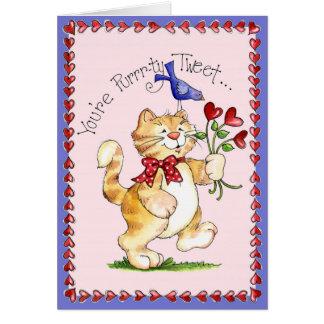 Purrtyのさえずり-挨拶状 カード