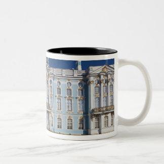 PushkinTsarskoye Seloのキャサリン宮殿 ツートーンマグカップ