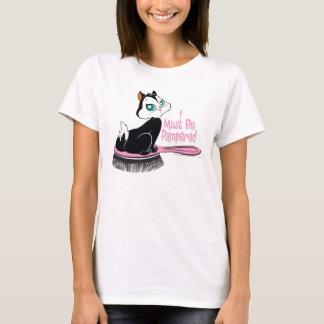 Pussyfootによって甘やかされる子猫 Tシャツ