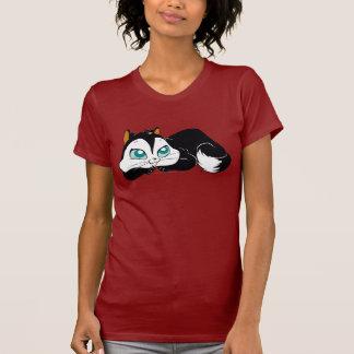 Pussyfootのかわいい子猫 Tシャツ