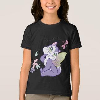Pussyfootのトンボの子猫 Tシャツ