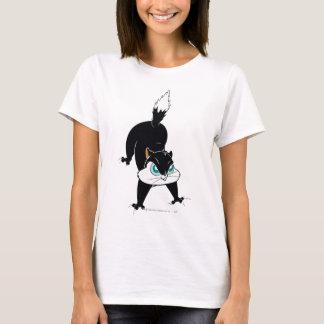 Pussyfootの子猫の領域 Tシャツ
