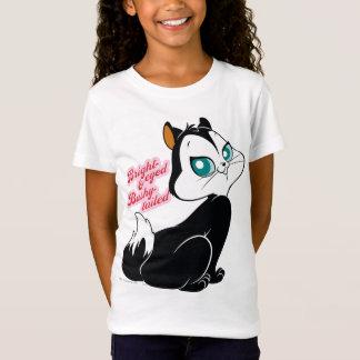 Pussyfootの明るい目をした子猫 Tシャツ