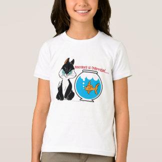 Pussyfootの気難しい子猫 Tシャツ