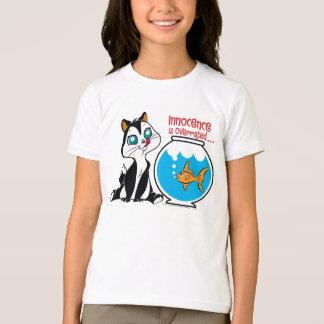 Pussyfootの潔白は大げさです Tシャツ