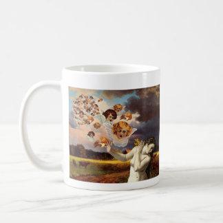 Puttiの攻撃 コーヒーマグカップ