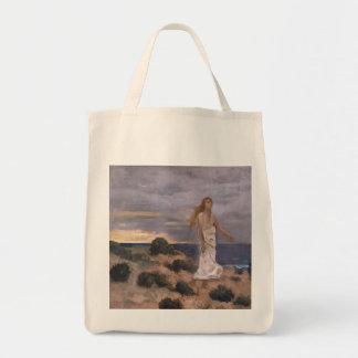 Puvis de Chavannes著ビーチの女性 トートバッグ
