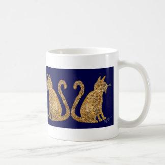 PWマーカスのマグによるネコヤナギ コーヒーマグカップ