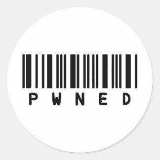 pwnd ラウンドシール